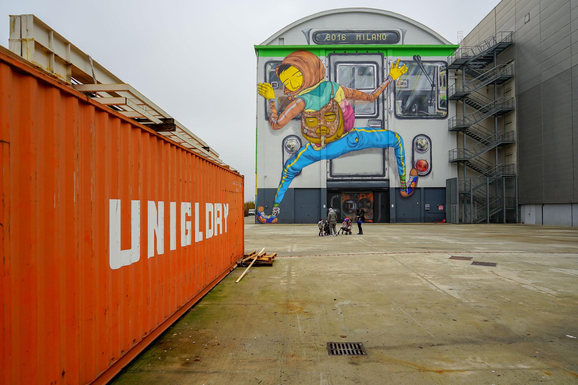 street art, hangar bicocca, os gemeos, milano, elena galimberti, fotografia