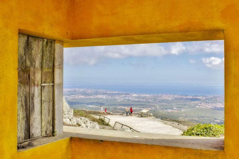 lisboa, serra de sintra, portugal, portogallo, finestra panoramica, elena galimberti, fotografia