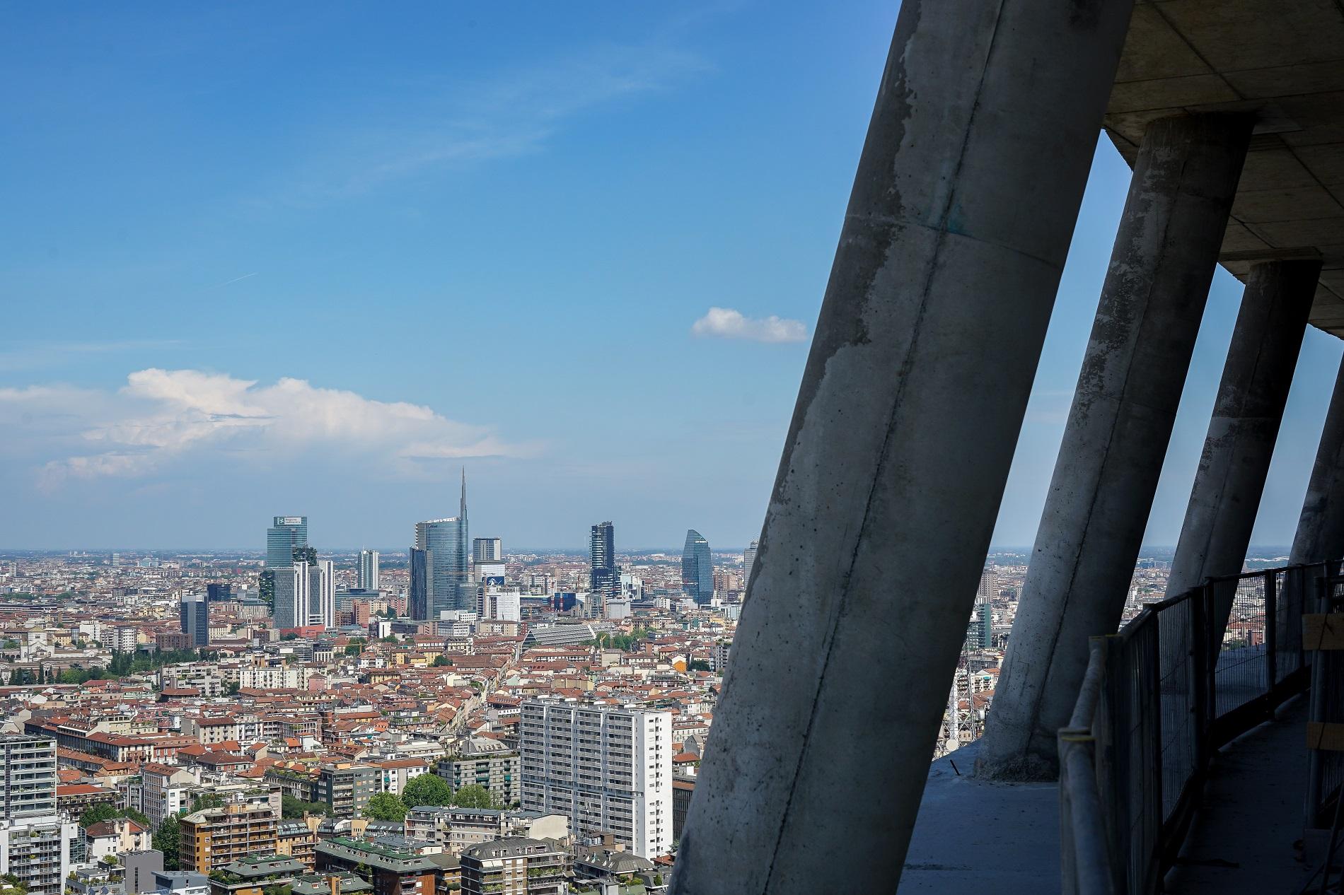 citylife, milano, cantiere pwc, torre libeskind, architettura milanese, grattacieli milanesi, skyline milano